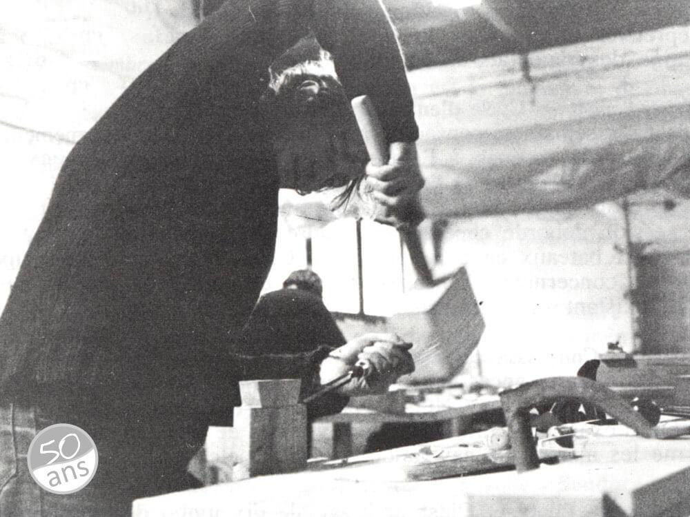 Formations techniques, en 1982
