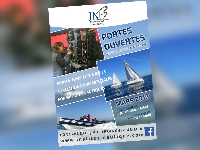 Portes Ouvertes de l'INB : 01-02 mars à Concarneau / 16 mars à Villefranche
