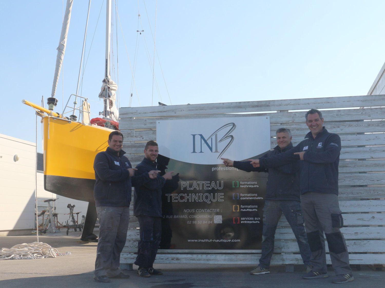 L'entreprise grecque Albatross en formation technique à l'INB