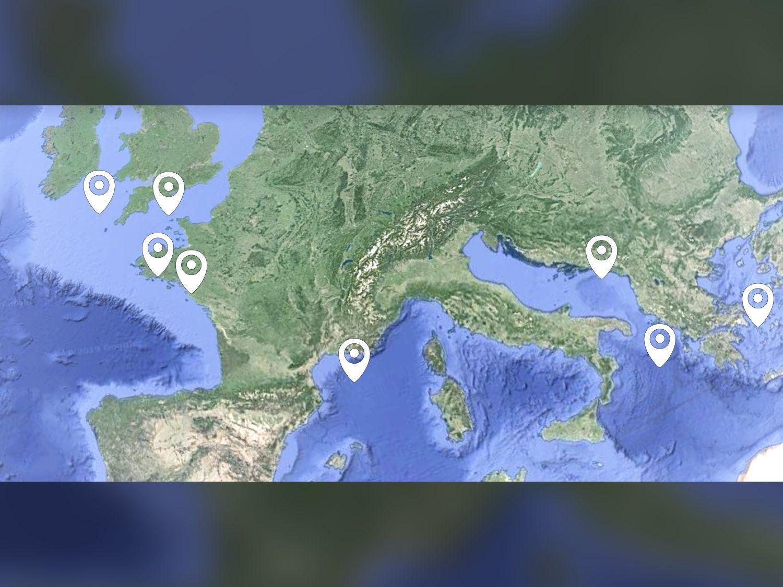 En mer et à terre, les Techni-co terminent l'année en bateau