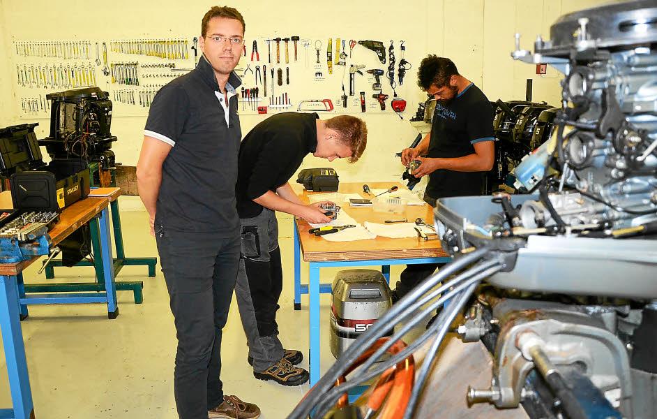 Comme tous les autres établissements scolaires, l'Institut nautique de Bretagne (INB) a rouvert ses salles de classes et de travail. Il reste encore quelques places, selon les secteurs. En cette rentrée, l'institut de la rue Bayard développe et renforce ses différentes formations.
